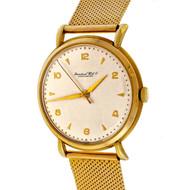 International Watch Co Cal 89 Calatrava 18k 1945 Wrist Watch