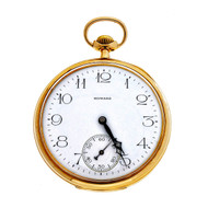 Antique 1912 E. Howard 14k Yellow Gold 17 Jewel Pocket Watch