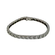 Edwardian Deco Platinum 2.00ct Old Diamond Bracelet