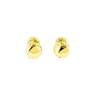 Estate Angela Cummings 1996 Heavy 18k Yellow Gold Double Sided Cuff Links