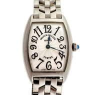 Franck Muller Curvex Ladies Stainless Steel Watch