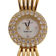Estate Tiffany & Co 18k 2.00ct Diamond Audemars Piguet Ladies Wrist Watch