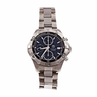 Tag Heuer Aquaracer Chronograph Automatic Date Watch Stainless Steel CAF 2110