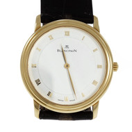 Blancpain 1081 Wrist Watch Automatic 18k Yellow Gold 21k White Gold Rotor