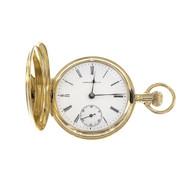 Vintage Tiffany & Co Gold Pocket Watch 18k 35mm