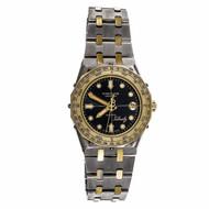 Breitling Tabarly Wrist Watch Quartz Slate Dial circa 1980