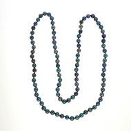 32 Inch 7.5-8mm Black Dyed Cultured Pearl Necklace