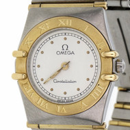 Ladies 2-Tone Omega Constellation