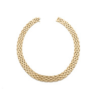 Cartier Maillon Panthere Five-Row Yellow Gold Necklace