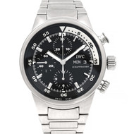 IWC International Watch Co Aquatimer Chronograph Automatic Stainless Wrist Watch