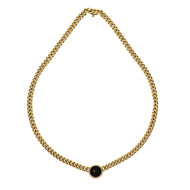 Bulgari Ancient Coin Necklace 18k Yellow Gold