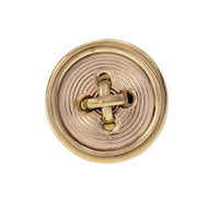 Tiffany & Co Button Tie Tack 14k Yellow Gold