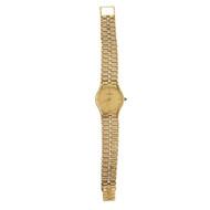 1990 Baume & Mercier 14k Yellow Gold Watch & Band Quartz