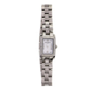 Baume & Mercier Ladies Hampton Diamond Steel Wrist Watch