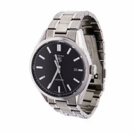 Tag Heuer Carrera Automatic Wrist Watch MV211B-3 Stainless Steel Black Dial