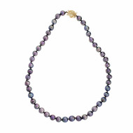 9mm Dyed Baroque Freshwater Pearl Necklace