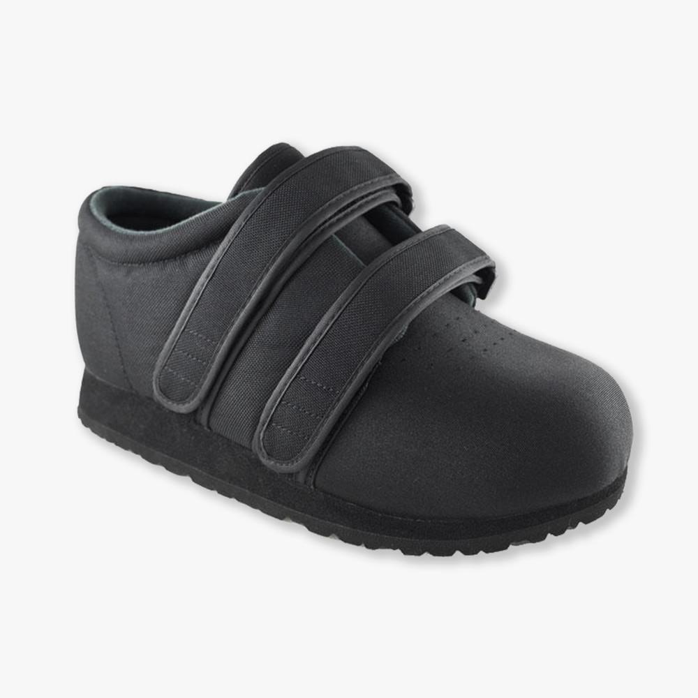 Clásico Max Negro Zapatos Diabética Y Ortopédicos