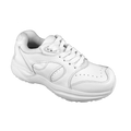 Genext Pedors Athletic Lace Mens White Side View