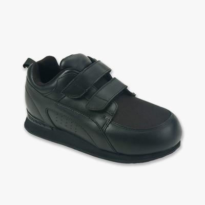 Pedors Stretch Walker Negro Zapatos Ortopédicos Para Diabéticos Para Caminar