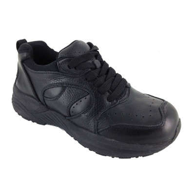 Genext Athletic Black Lace-Up GAL10W Womens Orthopedic Shoes