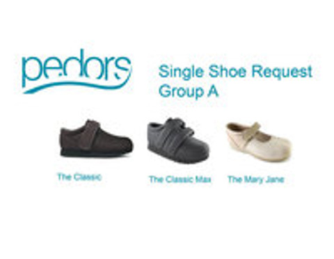 Single Shoes & Mis-Mate Pairs on Pedors.com?