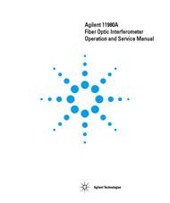 11980A Fiber Optic Interferometer, Operation and Service Manual   HP Agilent Keysight