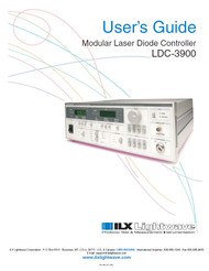 LDC-3900 Modular Laser Diode Controller, User's Guide   ILX Lightwave, Newport