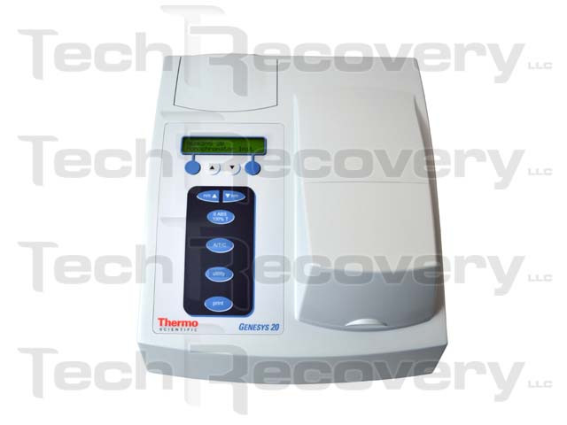 genesys 20 visible spectrophotometer thermo scientific rh techrecovery com Spectronic Genesys 5 Spectrophotometer Genesys 2 Spectrophotometer