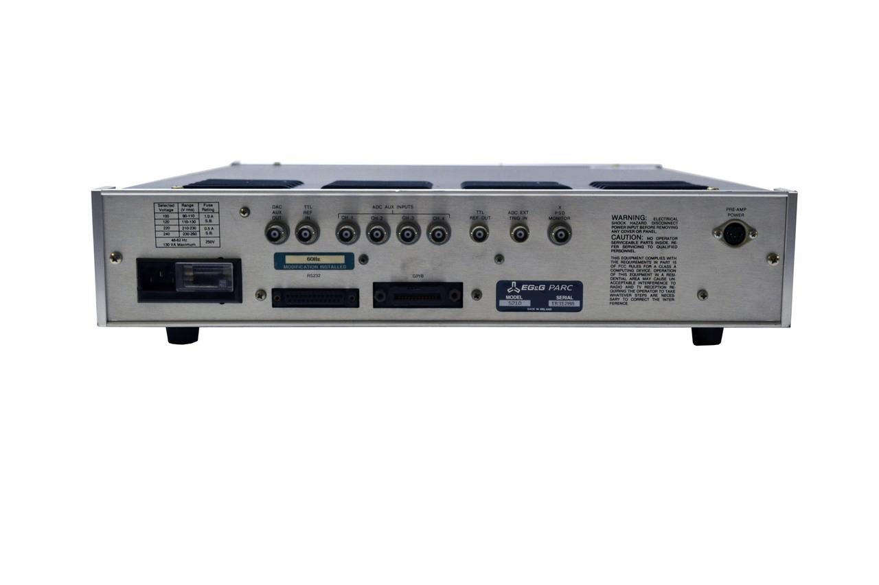 5210 Lock In Amplifier Egg Princeton Applied Research Lockin Amplifierj Larger More Photos