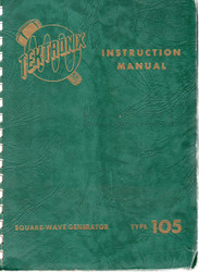 105 Square-Wave Generator, Instruction Manual | Tektronix