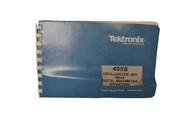 Tektronix 465B Oscilloscope and DM44 Digital Multimeter Operators Manual