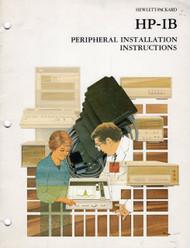 82937A HP-IB Peripheral Installation Instructions | HP