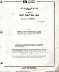 13037 Disc Controller Manual | HP