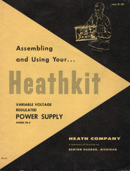 PS-3 Power Supply, Assembling and Using Your... Heathkit
