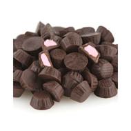 10lb Mini Dark Chocolate Raspberry Cups