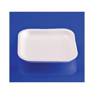 1000ct 1S White Foam Tray 5 inch x 5 inch