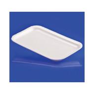 1000ct 17S White Foam Tray 8 inch x5 inch