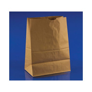 500ct 1/8 Brown Paper Bag 50 lb 10.5x6.5x14