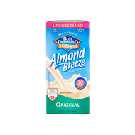 12/32oz Unsweetened Original Almond Breeze