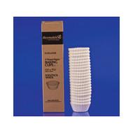 500ct Bon Bon Candy Papers Mini Baking Cups (White)