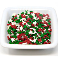 5lb Holiday Star Shapes (Red, Green, White)