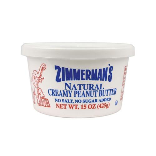 12/15oz Natural Peanut Butter, No Salt