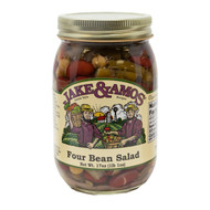 12/16oz Jake and Amos  Four Bean Salad