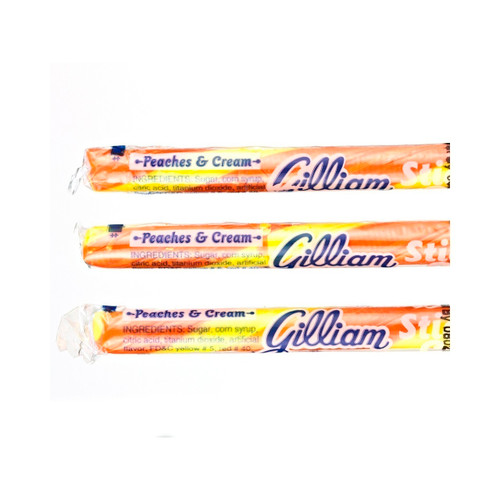 80ct Candy Sticks Peaches & Cream