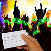 LED REMOTE WRISTBANDS