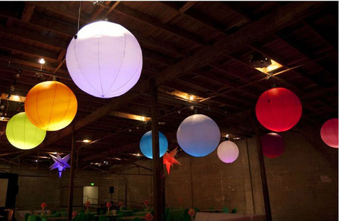 led inflatable sphere