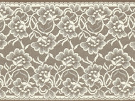 """Ivory Galloon Lace Trim - 7.75"""" (IV0734G01)"""
