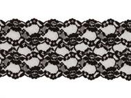 "Black Galloon Lace Trim - 4.875"" - (BK0478G02)"
