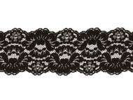 "Black Galloon Lace Trim - 3.75"" - (BK0334G01)"
