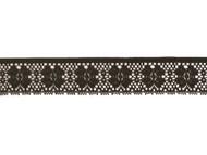 """Black Edge Lace Trim - 1.375"""" - (BK0138E04)"""